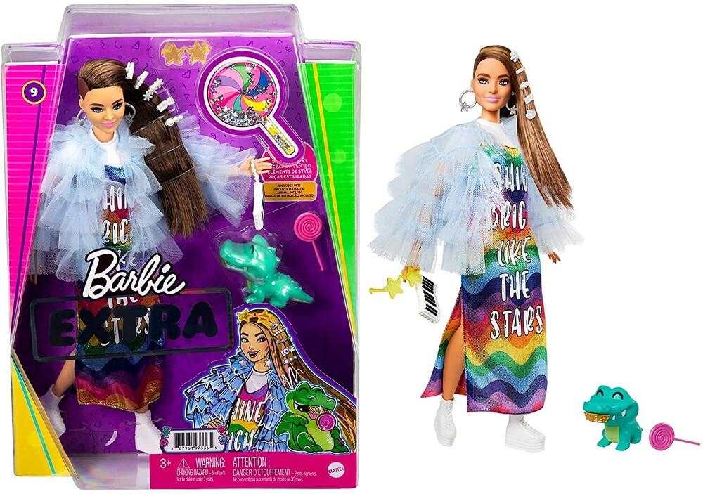 Barbie - Mattel - Barbie Extra Doll, Yellow Coat