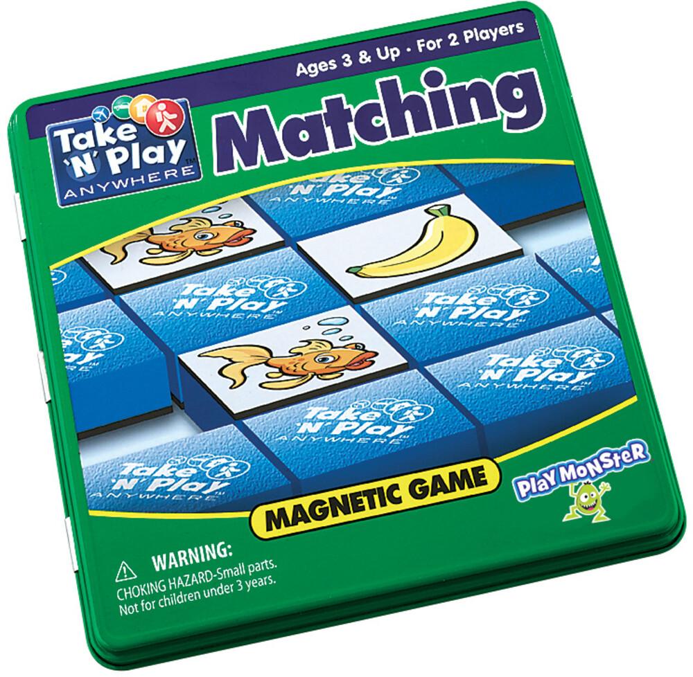 - Take N Play Anywhere Matching Magnetic Game (Wbdg)