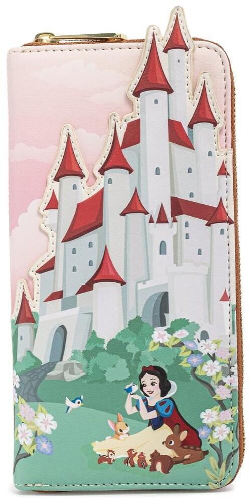 Loungefly Disney: - Snow White Castle Series Zip Around Wallet (Wal)