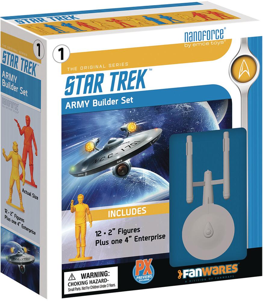 - Nanoforce Star Trek Tos Px Army Builder Boxed Set