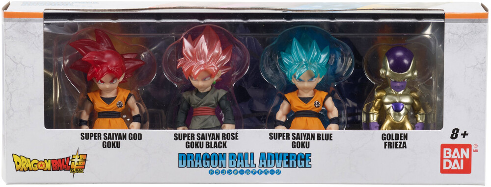 Dragon Ball Super Adverge - Adverge Figure Box Set 1 Goku God Golden Freiza