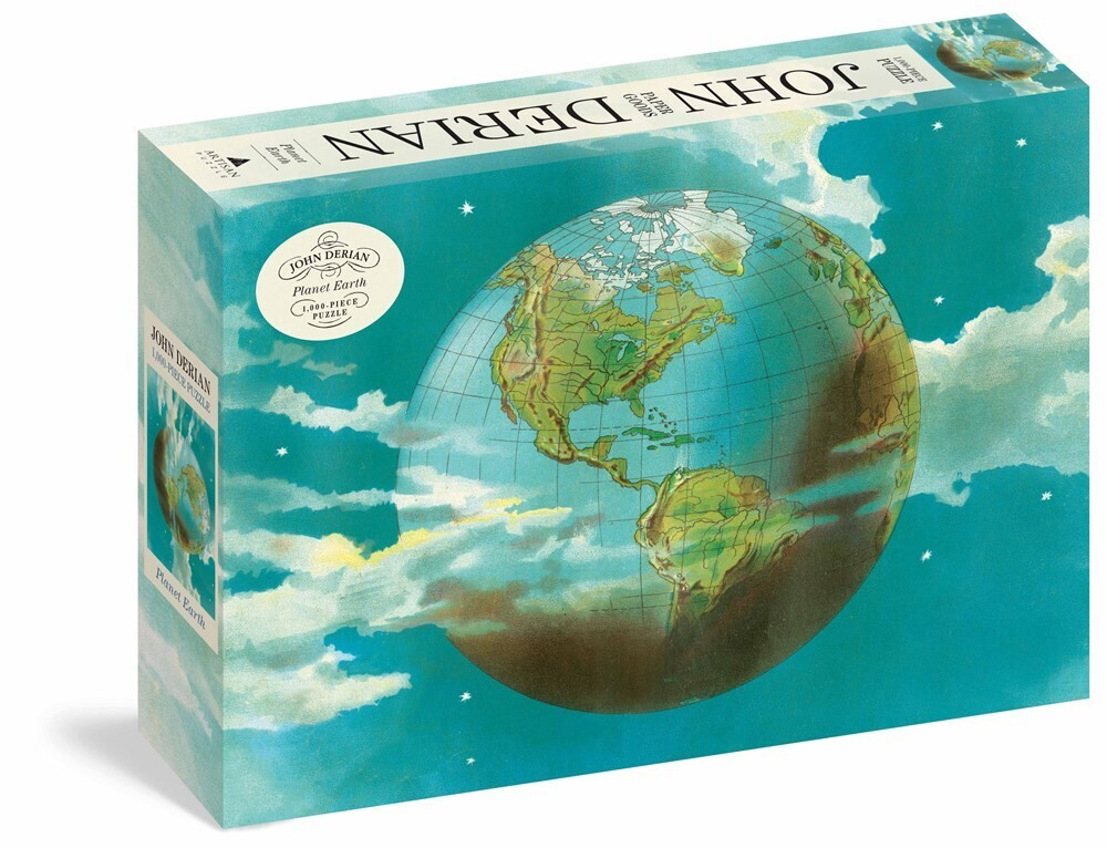 - John Derian Planet Earth 1000 Piece Puzzle (Puzz)