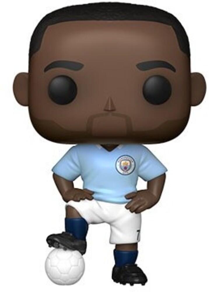 Funko Pop! Football: - Manchester City- Raheem Sterling (Vfig)
