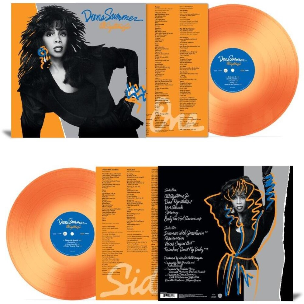 Donna Summer - All Systems Go [Colored Vinyl] [180 Gram] (Org) (Uk)