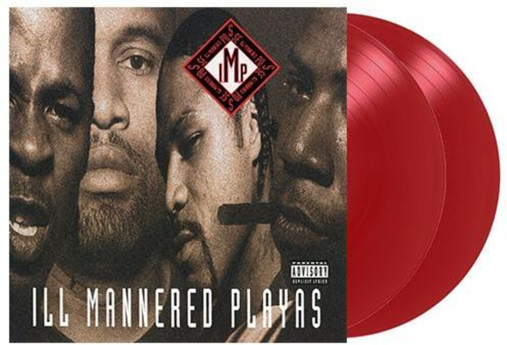 I.M.P - Ill Mannered Playas (Red Vinyl) [Colored Vinyl] (Red)