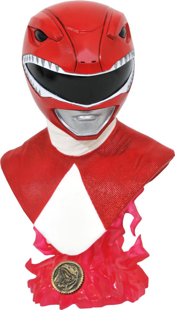 Diamond Select - Mighty Morphin Power Rangers L3d Red Ranger 1/2 Sc