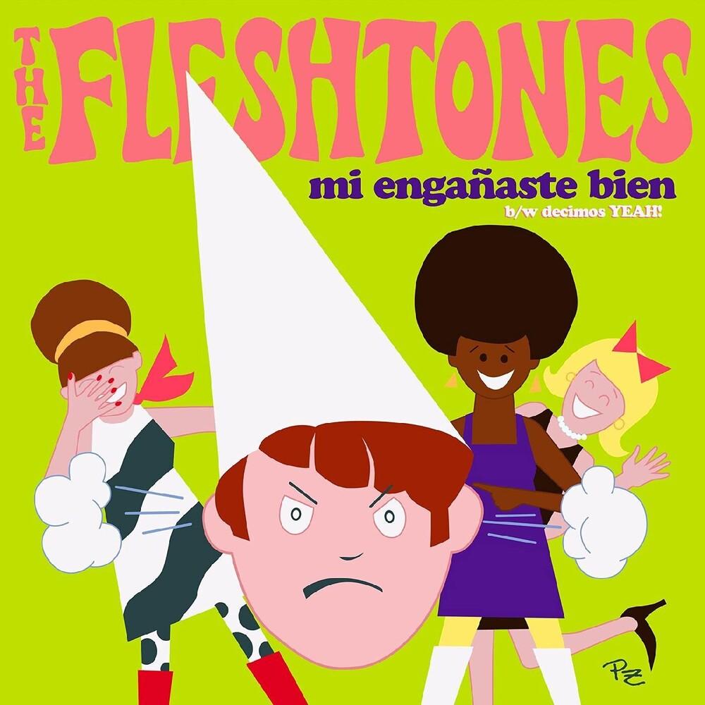 Fleshtones - Mi Enganaste Bien / Decimos Yeah!