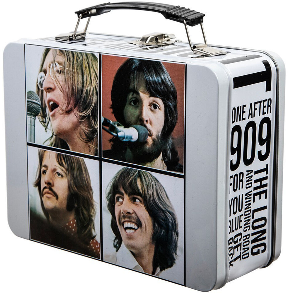 Beatles Let It Be Large Tin Tote - Beatles Let It Be Large Tin Tote (Clcb) (Tote)