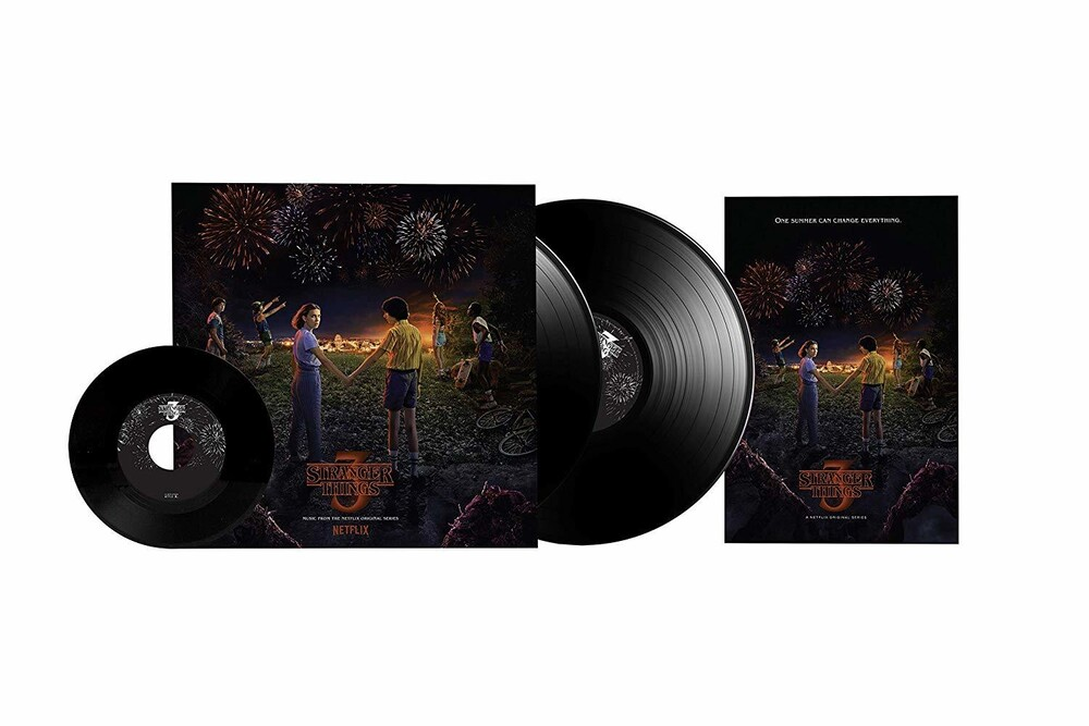 Stranger Things [TV Series] - Stranger Things: Soundtrack from the Netflix Original Series, Season 3 [2LP+Bonus 7in]