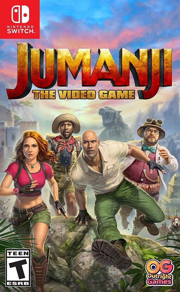 Swi Jumanji the Video Game - Jumanji: The Video Game for Nintendo Switch