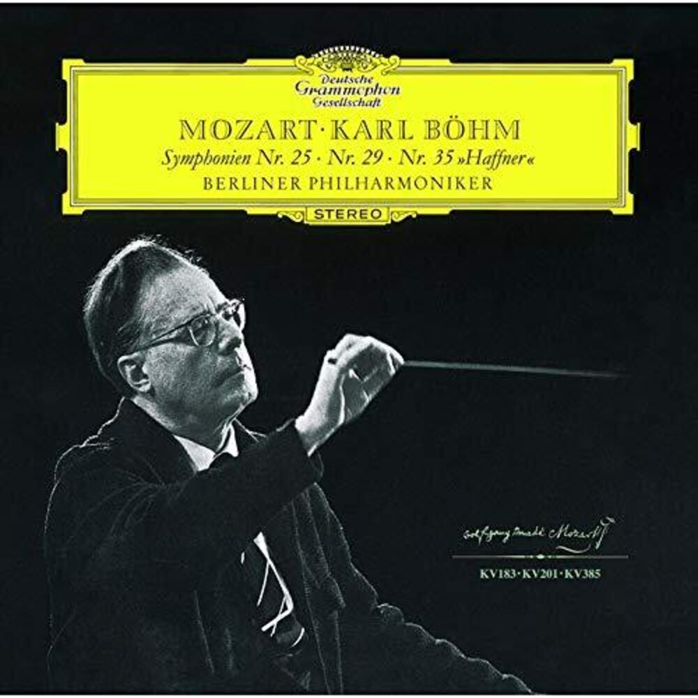 Mozart / Karl Bohm - Mozart: Symphonies 25 29 & 35 [Remastered] (Shm) (Jpn)