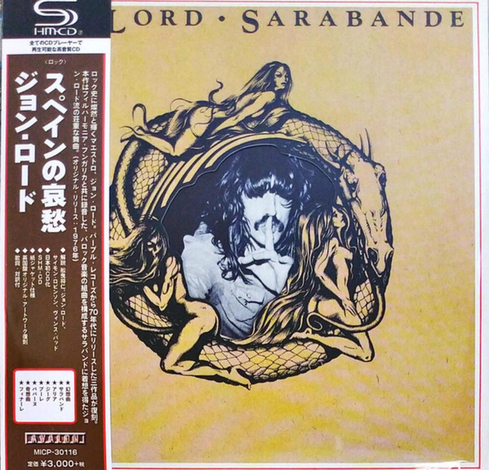 Jon Lord - Sarabande (SHM-CD) (Paper Sleeve)