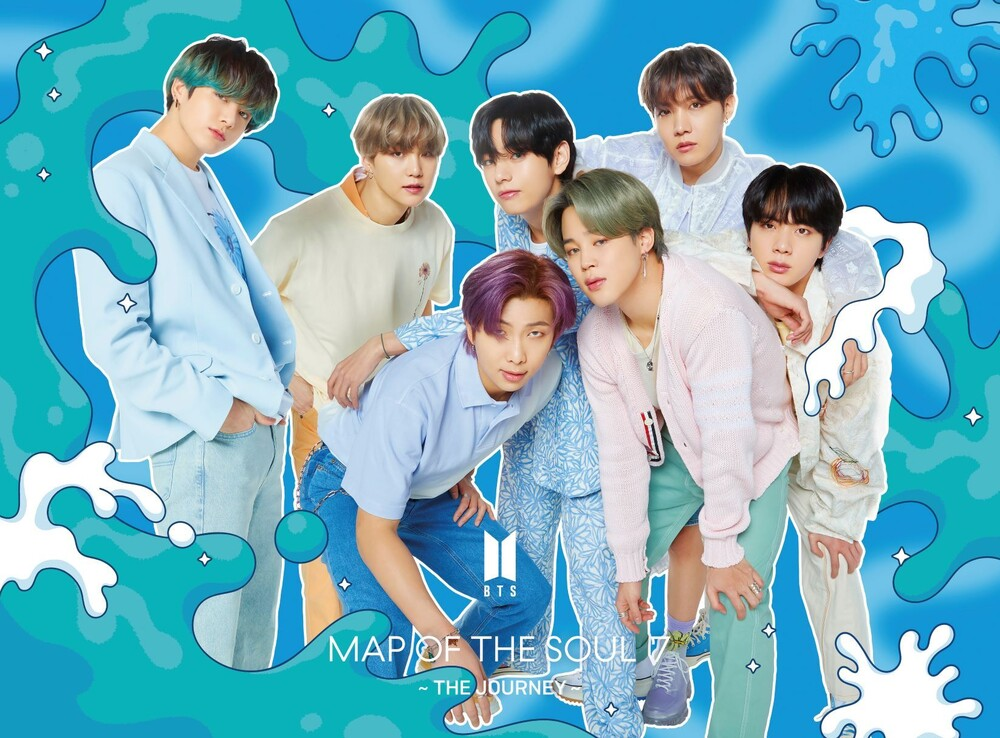 BTS - MAP OF THE SOUL: 7 – THE JOURNEY [Limited Edition CD/Book] [Ver. D]