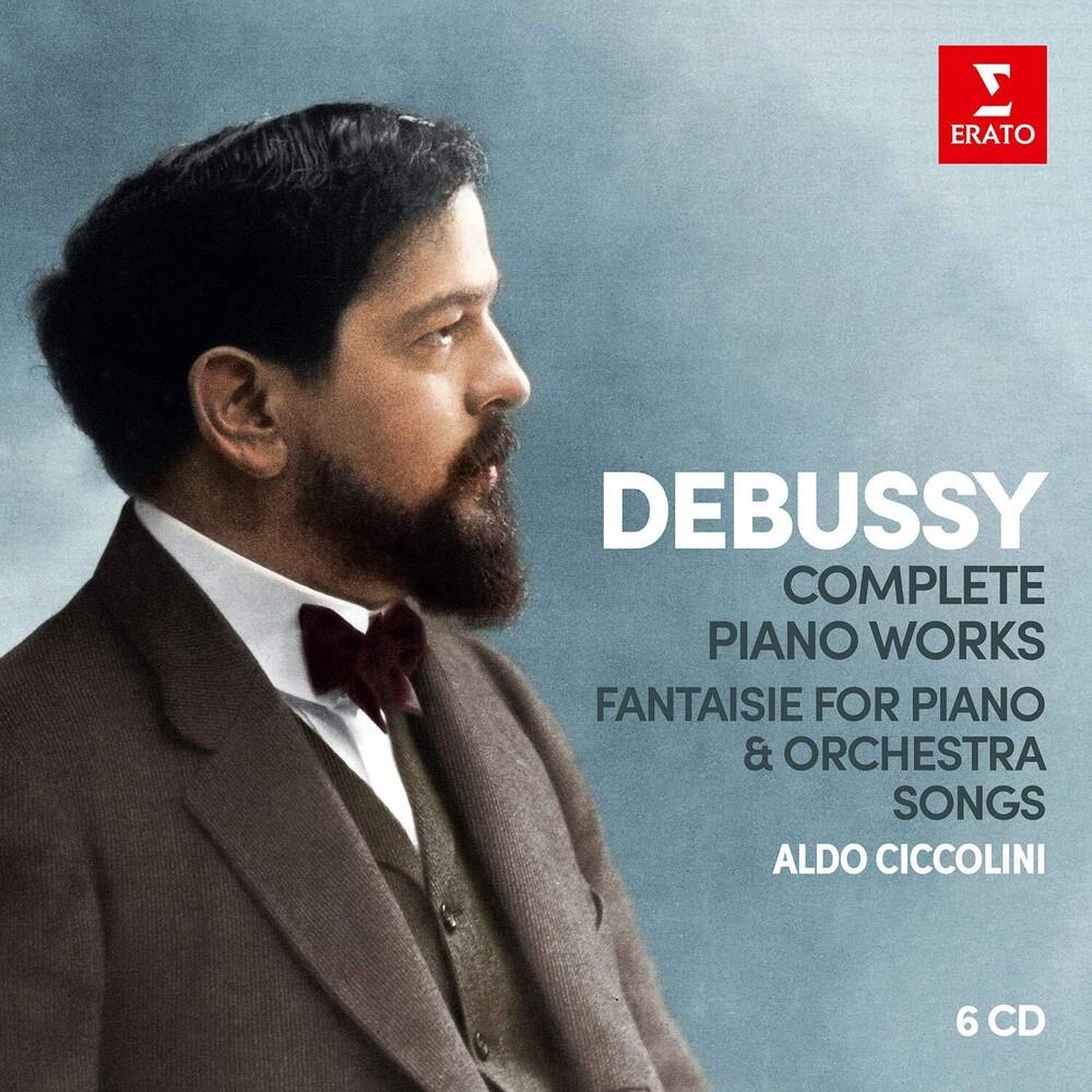 Aldo Ciccolini - Debussy: Complete Piano Works; Fantaisie For Piano