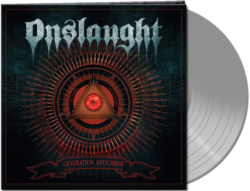 Onslaught - Generation Antichrist (Clear Silver Vinyl) [Clear Vinyl]