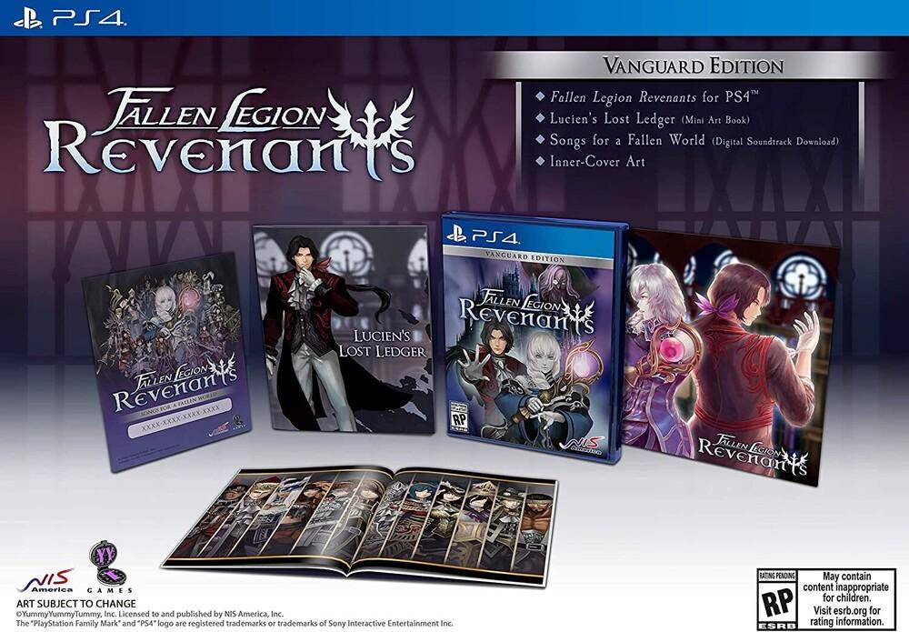 Ps4 Fallen Legion Revenants Vanguard Edition - Ps4 Fallen Legion Revenants Vanguard Edition