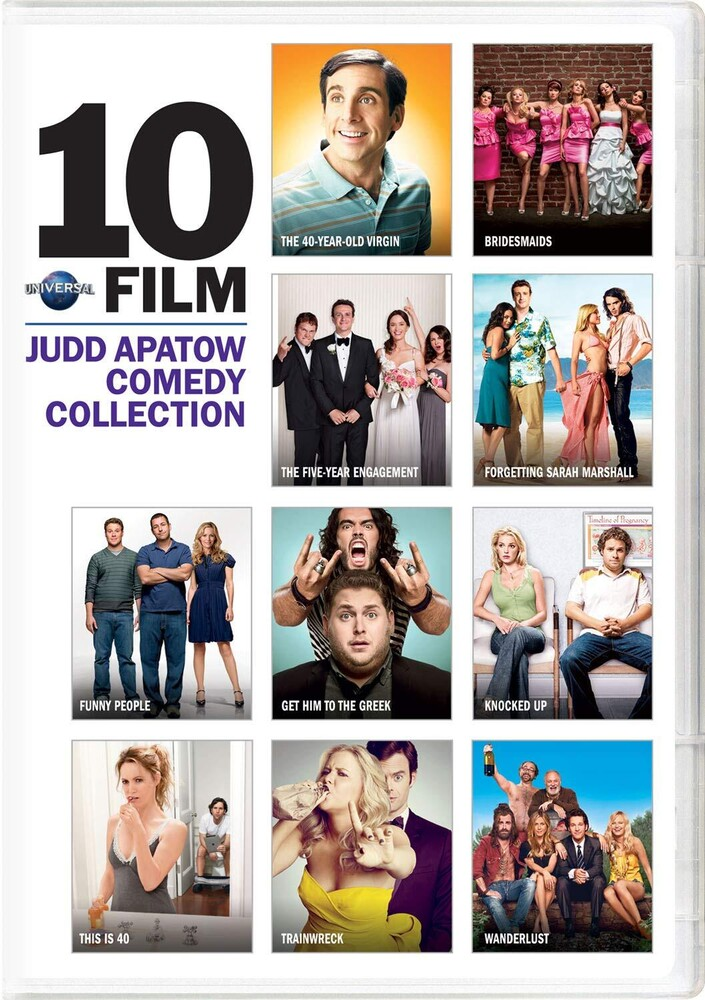Universal 10-Film Judd Apatow Comedy Collection - Universal 10-Film Judd Apatow Comedy Collection