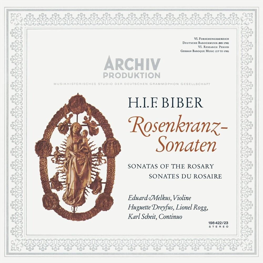 Eduard Melkus - Sonatas Of The Rosary (H.I.F. Biber) (Gate) (Ogv)