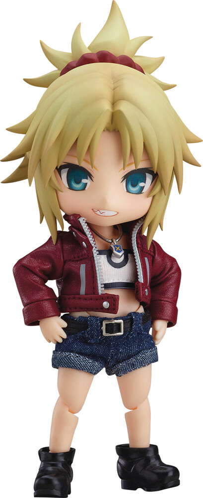 Good Smile Company - Good Smile Company - Fate Apocrypha Saber Of Red Nendoroid Doll ActionFigure Casual Version