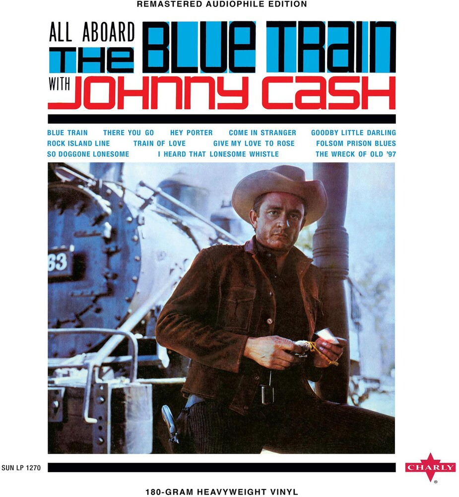 Johnny Cash - All Aboard The Blue Train [LP]