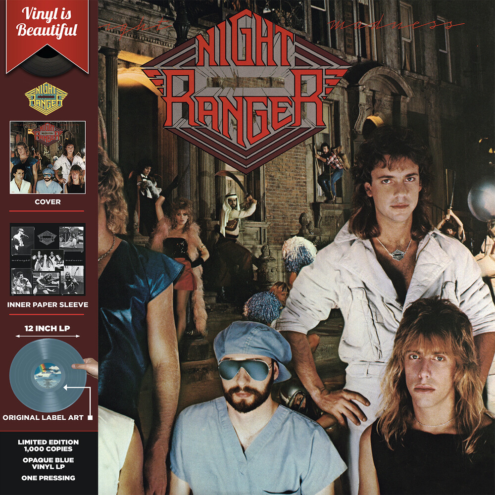 Night Ranger - Midnight Madness (Light Blue Opeque Vinyl) (Blue)