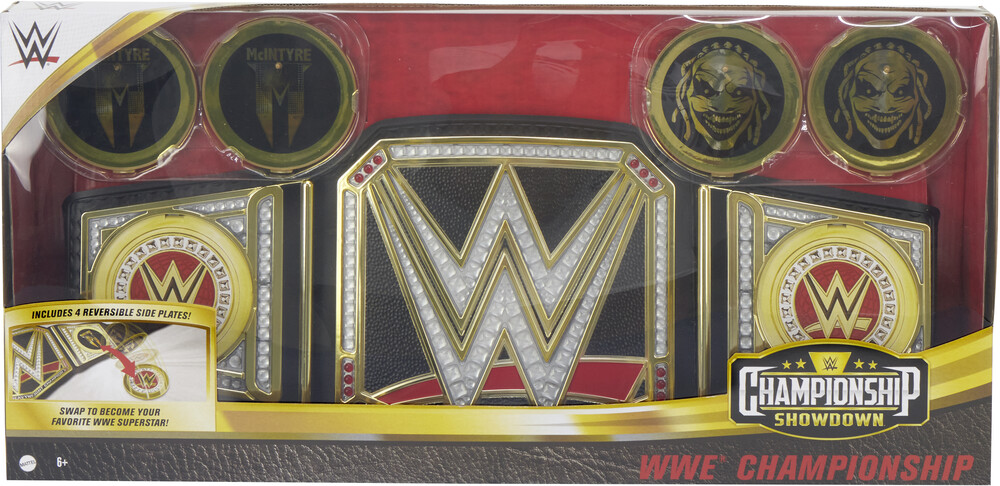WWE - Mattel Collectible - WWE Live Action Championship Title
