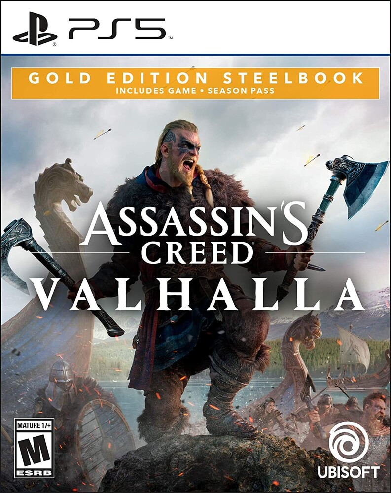 Ps5 Assassin's Creed Valhalla Steelbook Gold Ed - Ps5 Assassin's Creed Valhalla Steelbook Gold Ed