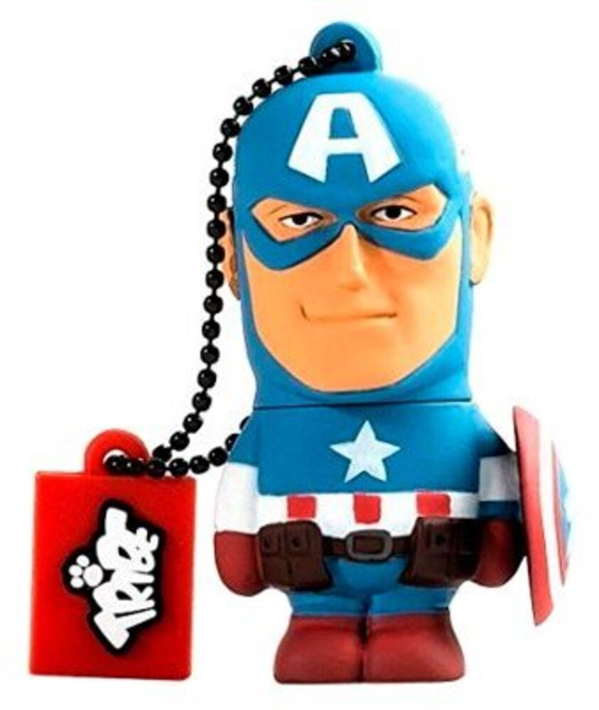 - Tribe Marvel Captain America 32GB USB Flash Drive