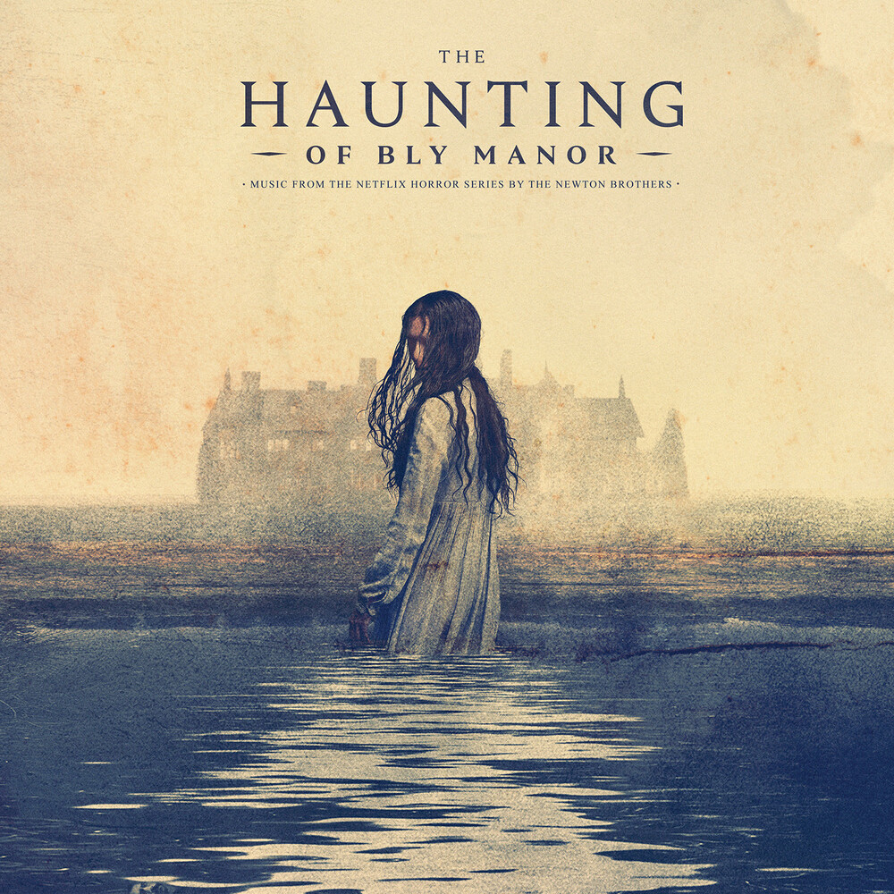Newton Brothers Colv Ogv - The Haunting of Bly Manor (Original Soundtrack) (Rust and Deep Blue Swirled Vinyl)