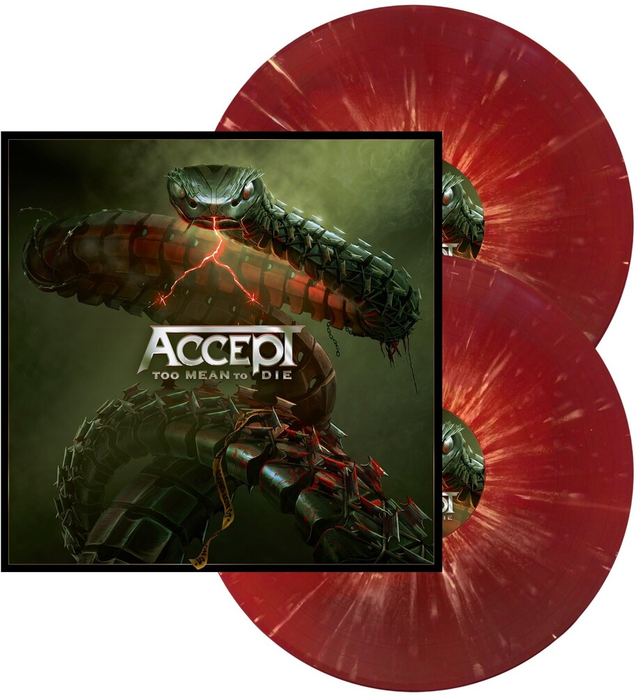 Accept - Too Mean To Die [Red W/ White Splatter LP]