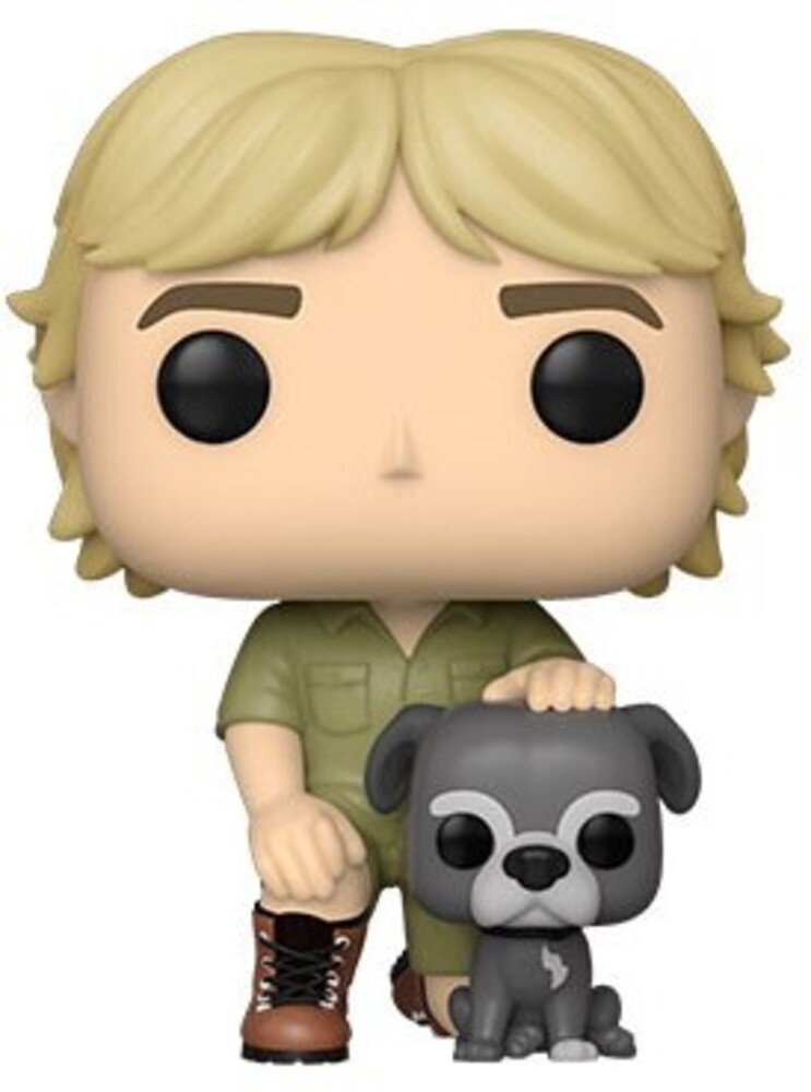 - FUNKO POP! TELEVISION: Crocodile Hunter- Steve Irwin w/Sui