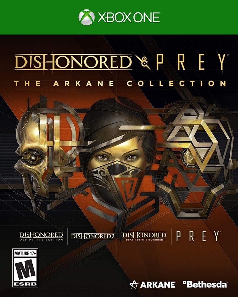 Xb1 Dishonored & Prey - Arkane Collection - Dishonored and Prey: The Arkane Collection for Xbox One