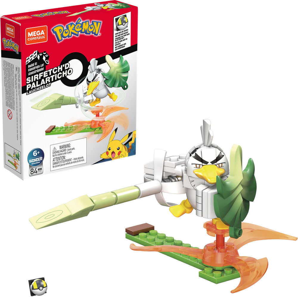 Mega Bloks Pokemon - MEGA Brands - Pokemon Power Pack Sirfetch'D