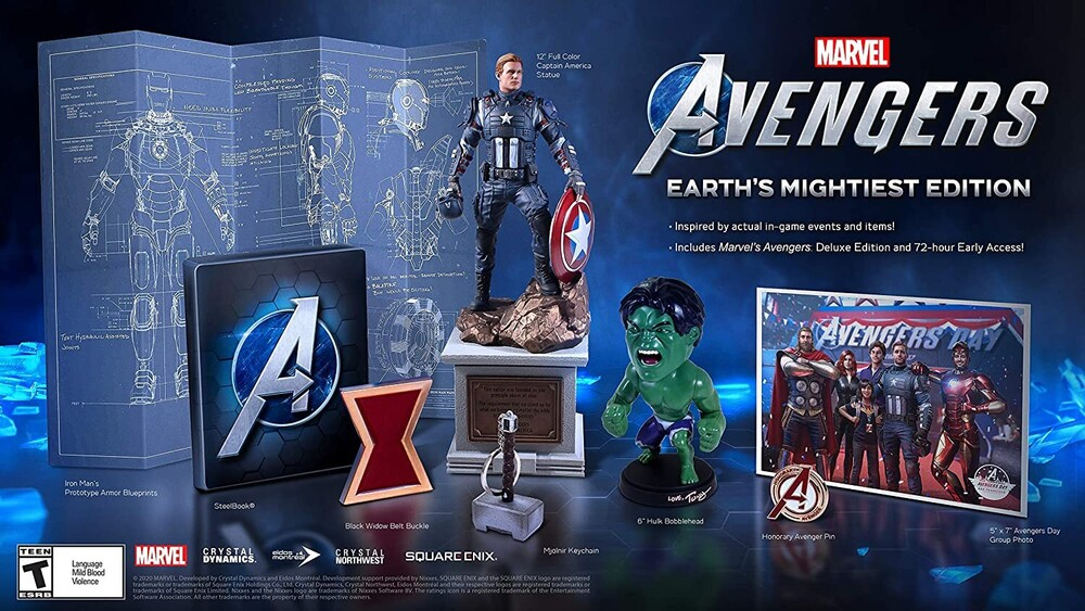 Xb1 Marvels Avengers Earths Mightiest Coll Ed - Xb1 Marvels Avengers Earths Mightiest Coll Ed
