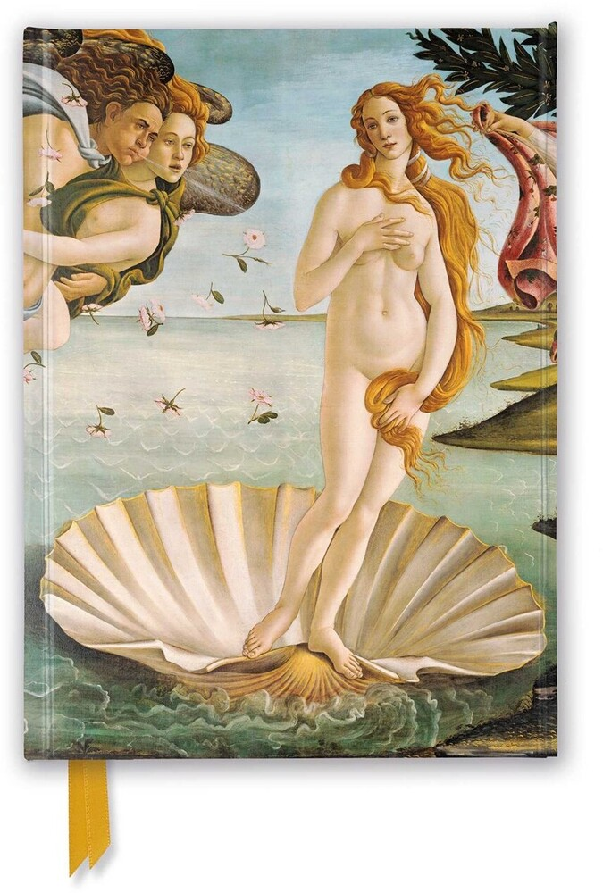 Flame Tree Studio - Sandro Botticelli: The Birth of Venus: Foiled Journal