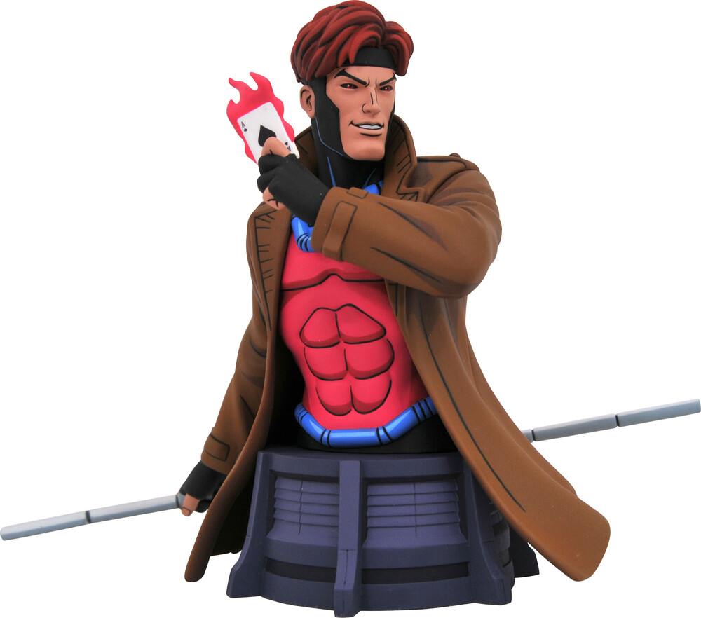 - Diamond Select - Marvel Animated X-Men Gambit Bust