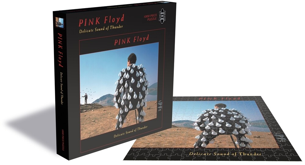 Pink Floyd Delicate Sound of (1000 PC Puzzle) - Pink Floyd Delicate Sound Of Thunder (1000 Piece Jigsaw Puzzle)