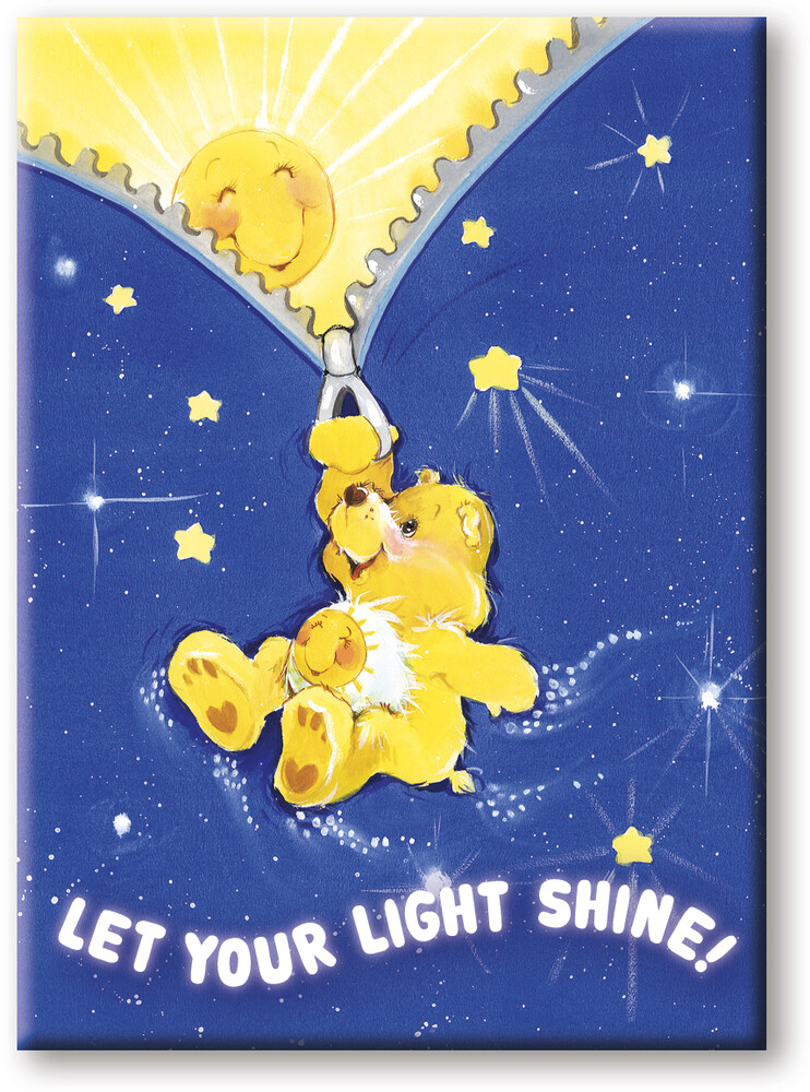 Care Bears Shine 2.5 X 3.5 Flat Magnet - Care Bears Shine 2.5 x 3.5 Flat Magnet