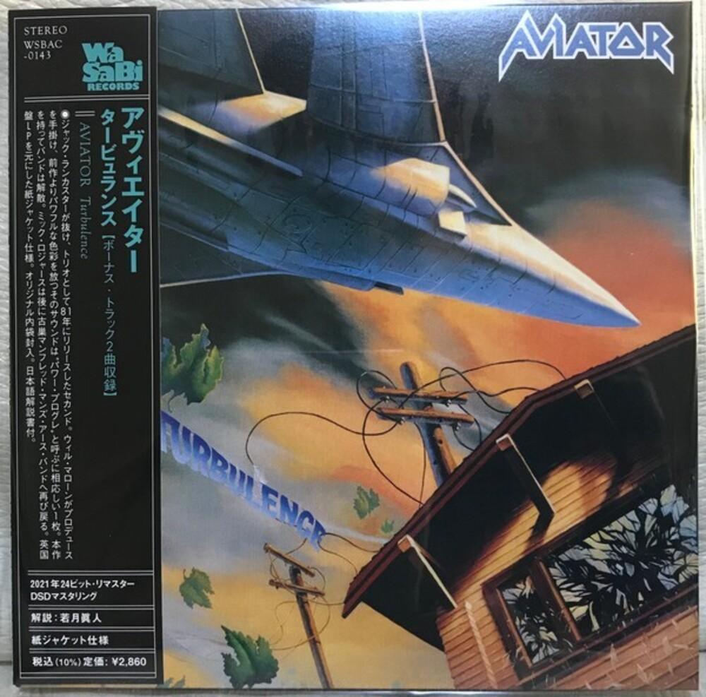 Aviator - Turbulence (Bonus Track) (Jmlp) (Dsd) (Jpn)