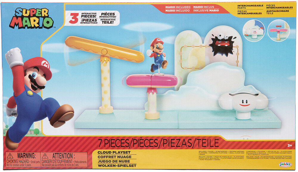 - Nintendo 2-1/2in Cloud Playset Cs (Clcb) (Fig)