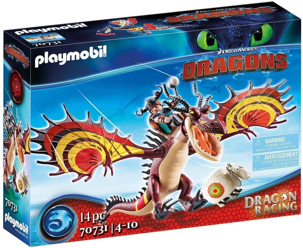 - Dragon Racing Snotlout And Hookfang (Fig)