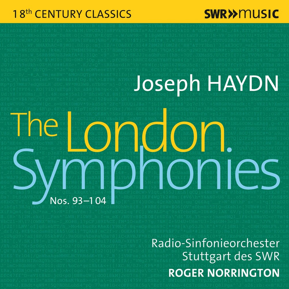 Haydn / Norrington - London Symphonies (4pk)