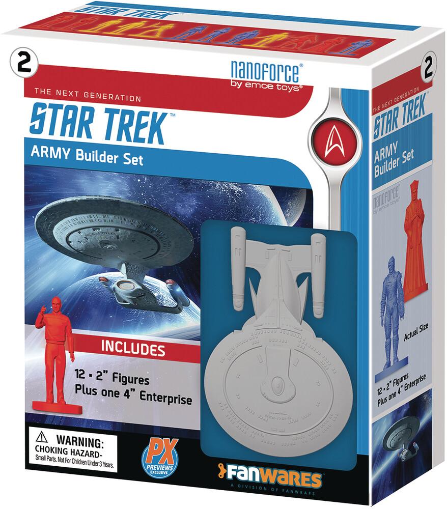 - Nanoforce Star Trek Tng Px Army Builder Boxed Set