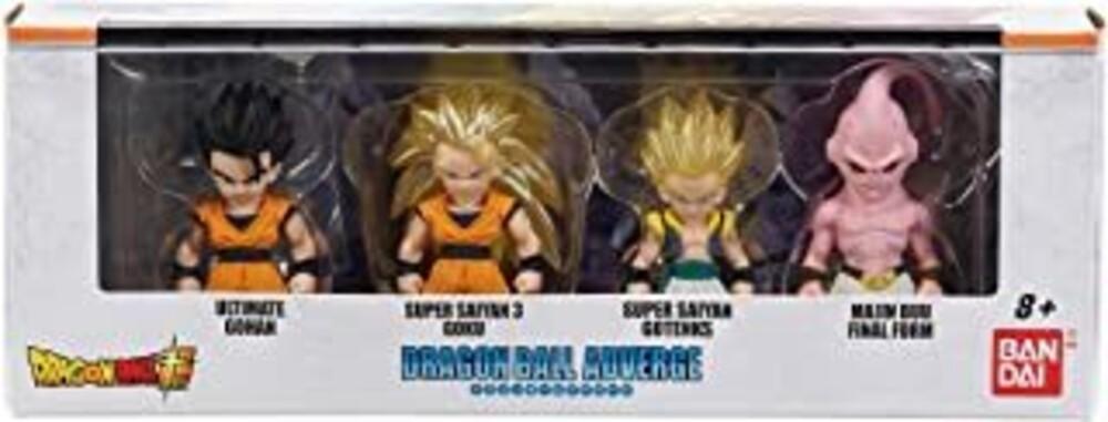 - Adverge Figure Box Set 2 Super Saiyan 3 Goku Gohan