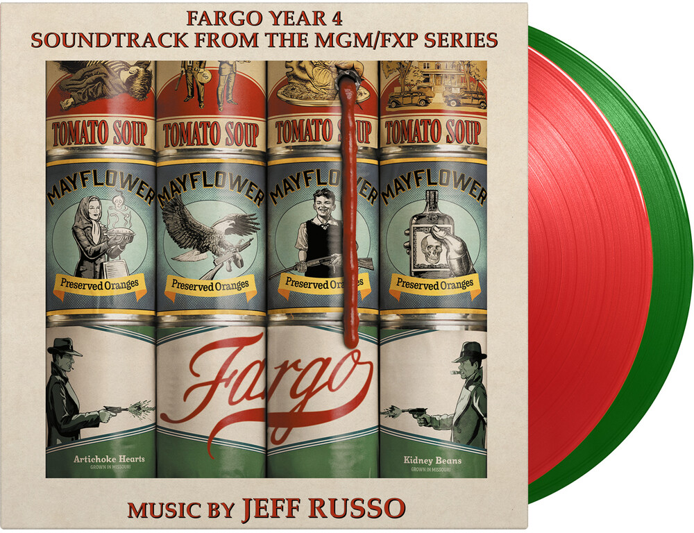 Jeff Russo  (Colv) (Grn) (Ltd) (Ogv) (Red) - Fargo - Season 4 / O.S.T. [Colored Vinyl] (Grn) [Limited Edition] [180 Gram]