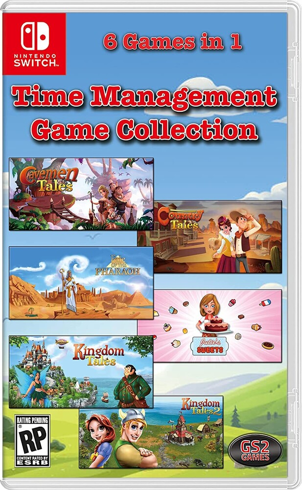 Swi Time Management Game Collection - Swi Time Management Game Collection