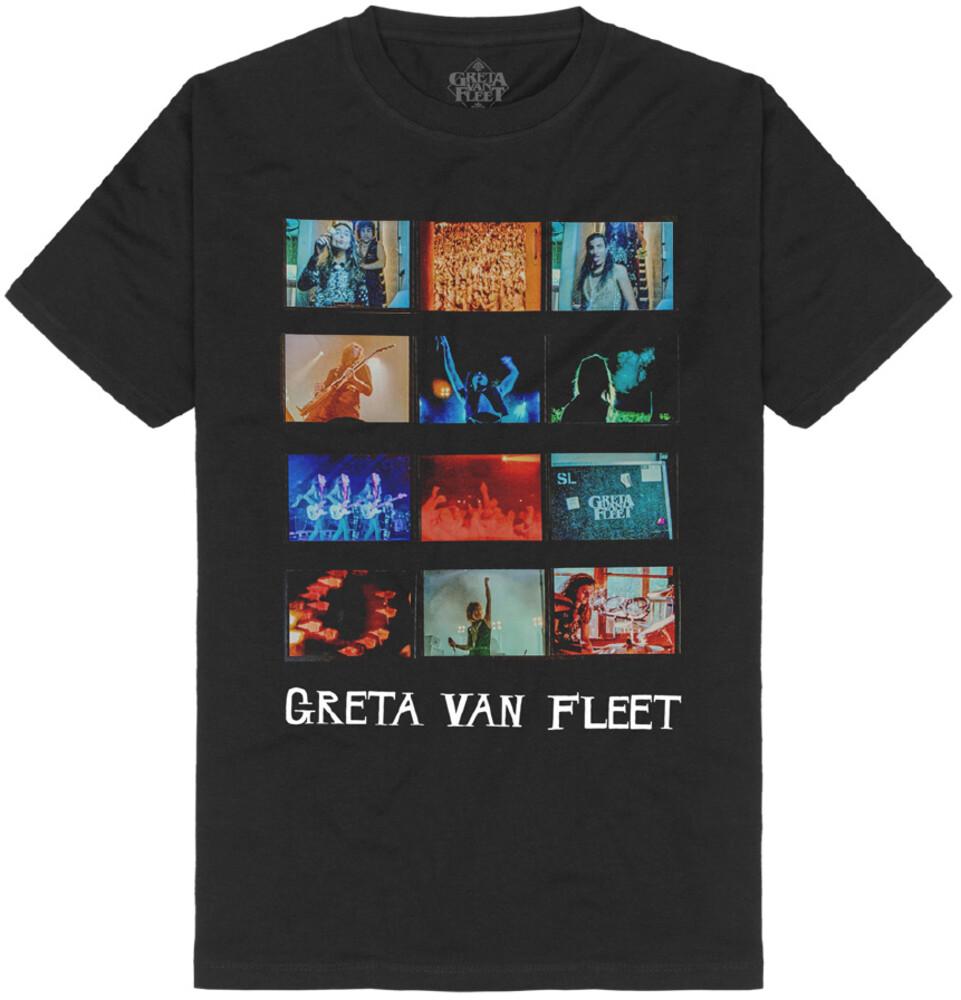 - Greta Van Fleet My Way Soon Cover Black Ss Tee L