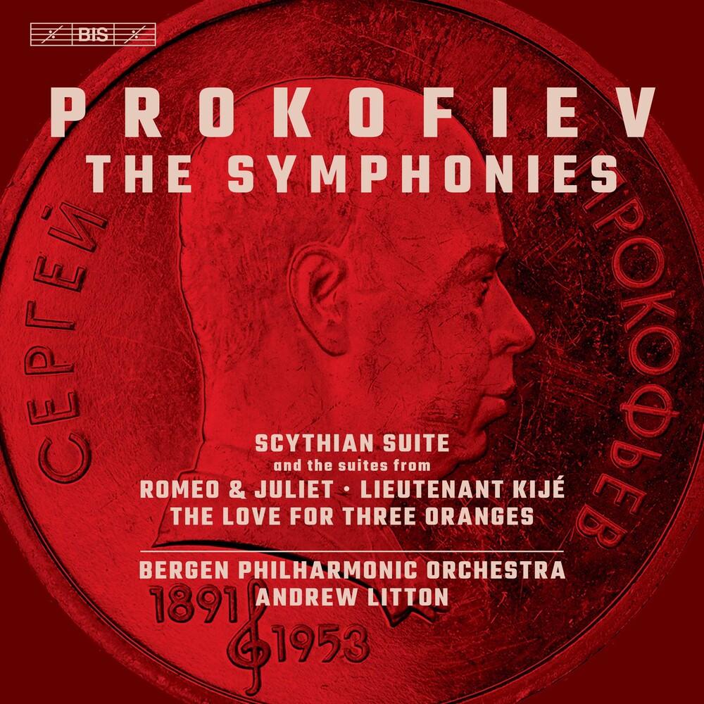 Prokofiev / Bergen Philharmonic Orch / Bondarenko - Symphonies (Hybr)