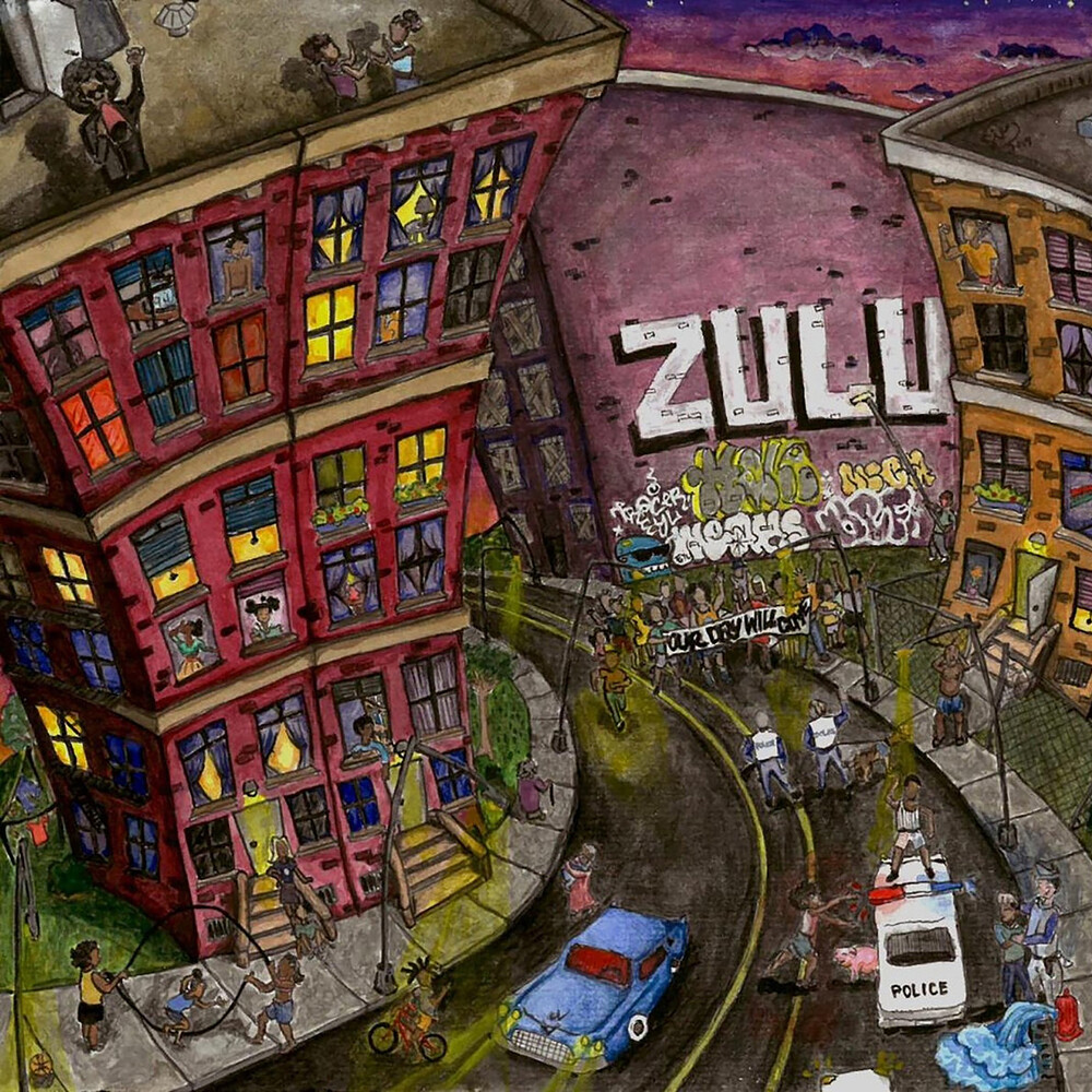 Zulu - My People...Hold On / Our Day Will Come [Colored Vinyl]