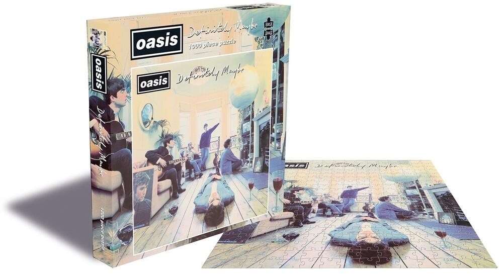 Oasis Definitely Maybe (1000 Piece Jigsaw Puzzle) - Oasis Definitely Maybe (1000 Piece Jigsaw Puzzle)